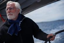 White Bearded Sailing Senior, ...