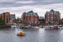 Victoria, View Of The Harbour ...