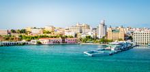 Port And Skyline Of San Juan, ...