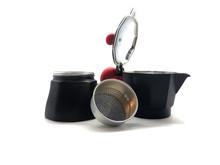 Geyser Coffee Maker Isolated O...