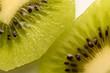 Macro Food Photography of Kiwi Fruit