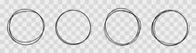 Hand Drawning Circle Line Sket...
