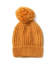 Orange Knitted Women's Hat Iso...