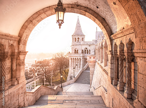 fisherman-s-bastion-in-the-morning
