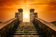 A Stairway  Toward To The Sun ...