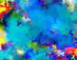 Colorful abstract background. 3D rendering