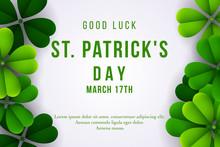 Happy St. Patrick's Day Backgr...