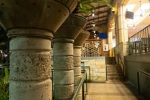 Ornate Concrete Stone Pillars ...