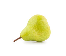 Fragrant Pear An Isolated On W...