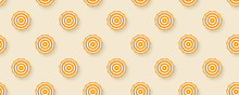 Seamless Pattern With Sun Umbr...
