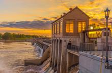 OKC Dam Sunset
