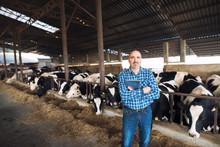 Portrait Of Cattleman Farmer S...