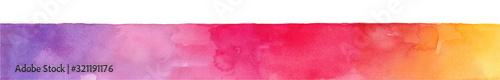Photo レッドカラーベルト abstract texture 水彩イラストのトレースベクター