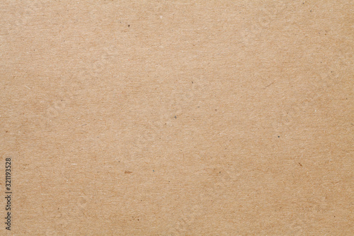 Close-up of brown kraft paper texture background Fototapet