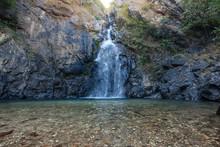Chok Kra-Din Waterfall The Bea...