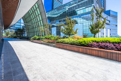 Fototapety, obrazy: corridor in shopping mall,shanghai,china.