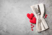 Valentine's Day Table Place Se...