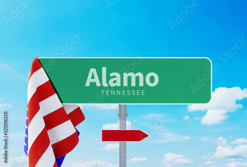 Alamo – Tennessee Wallpaper Mural