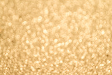 Abstract Gold Bokeh Celebration Background