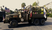 Old Military Vehicule In Place...