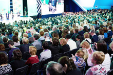 Many People At Conference