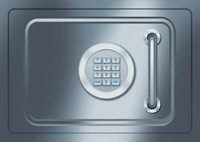 Safe Box Front With Keypad