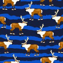 Reindeer, Animal , Cute Vector...