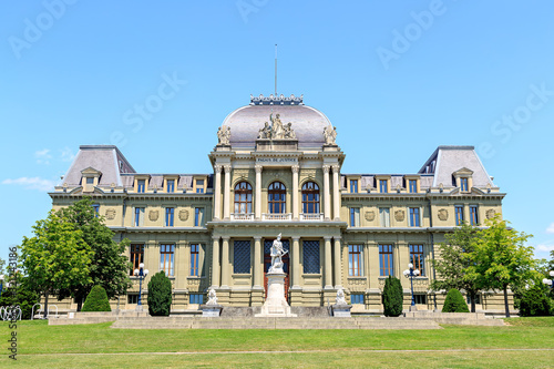Obraz na plátne Lausanne, Switzerland. Palace of Justice. Swiss Federal Court