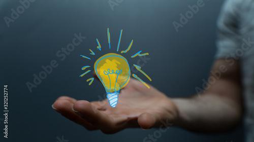 Fototapeta Concept for business strength and success. obraz