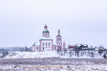 Suzdal Landscape With Church O...