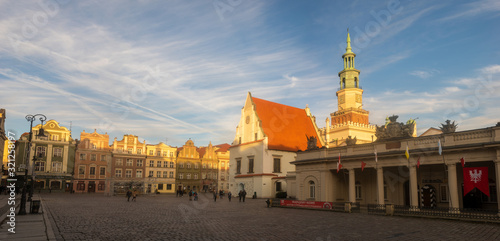 Town Hall on the Main Square in Poznan in Poland
