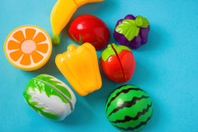 Plastic Food Children's Toys O...