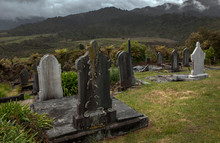 Ross South Island. Cemetry. Gr...