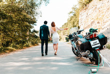 Wedding, Newlyweds. A Man And ...
