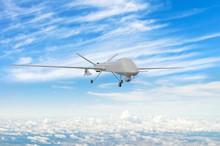 Military Uav Drone Flight Flie...