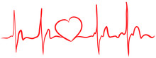 Heartbeat Continuous Line With...