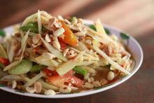 Green Papaya Salad (Som Tum Thai)