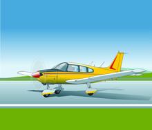 Sportflugzeug, Viersitzig Cherokee Archer