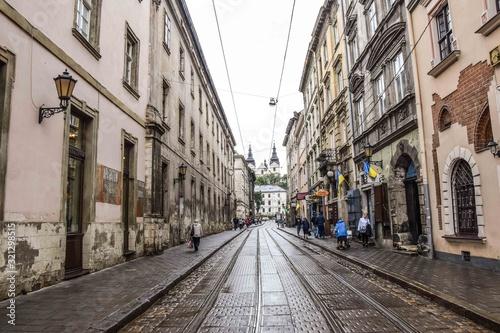 Fototapety, obrazy: lwów ulica
