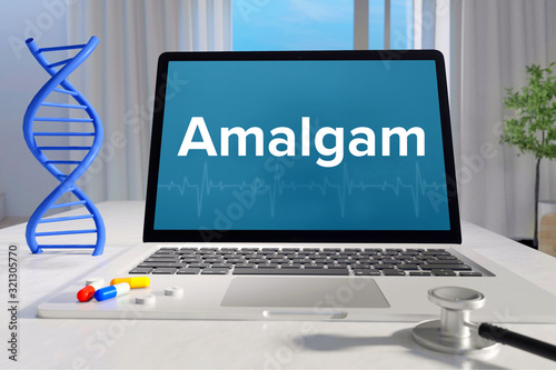 Amalgam – Medizin/Gesundheit Slika na platnu