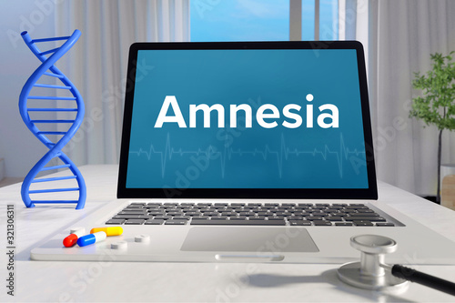 Amnesia – Medizin/Gesundheit Wallpaper Mural