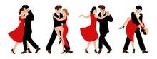Vector Set Of Couples Dancing ...