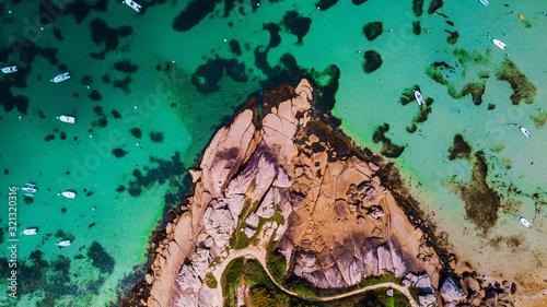 Photo Trégastel vue aérienne