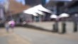 Blurred video of Downtown Wellington City waterfront view in the capital of New Zealand; Slow motion
