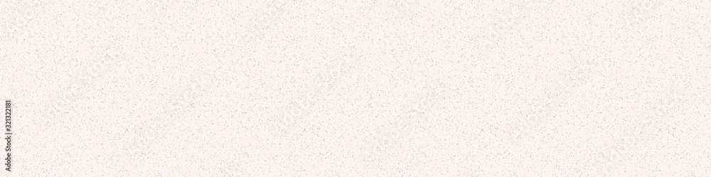 Fototapeta Hand made washi paper texture seamless border pattern. Tiny speckled hand drawn flecks . Soft ecru off gray neutral tone. Recycled homespun asian ribbon trim stationery, fashion edging ribbon trim