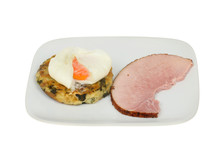 Ham Bubble And Squeak With Egg