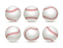 Baseball Ball Isolated White I...