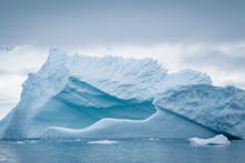 Antarctic Icebergs And Majesti...