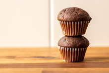 Sweet Muffins. Chocolate Cupca...