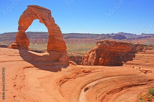 Slika na platnu Delicate Arch in Arches National Park in Utah, United States